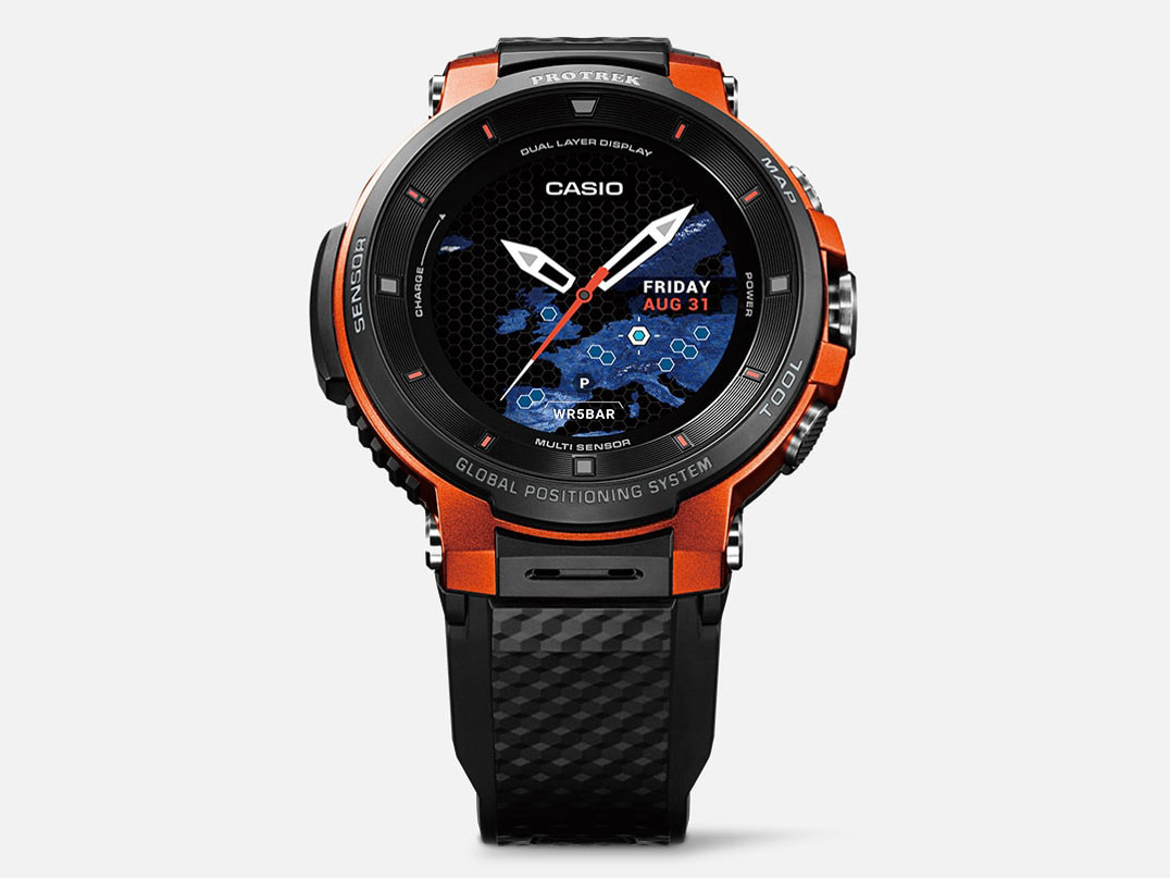 Smart Outdoor Watch PRO TREK Smart WSD-F30-RG [オレンジ] の製品画像