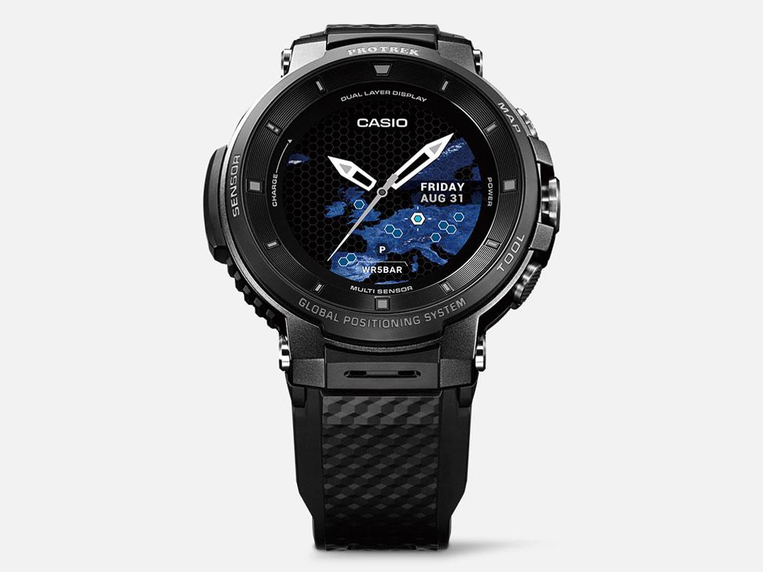 Smart Outdoor Watch PRO TREK Smart WSD-F30-BK [ブラック] の製品画像