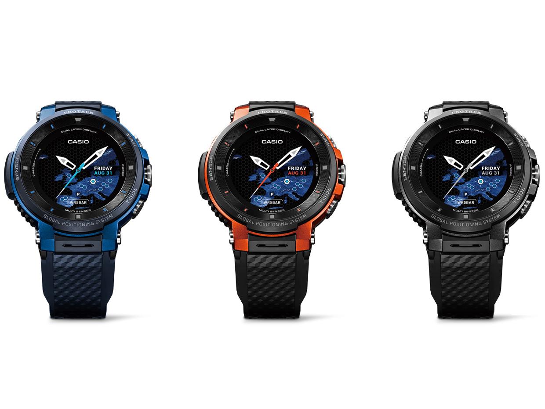 『カラーバリエーション』 Smart Outdoor Watch PRO TREK Smart WSD-F30-BK [ブラック] の製品画像