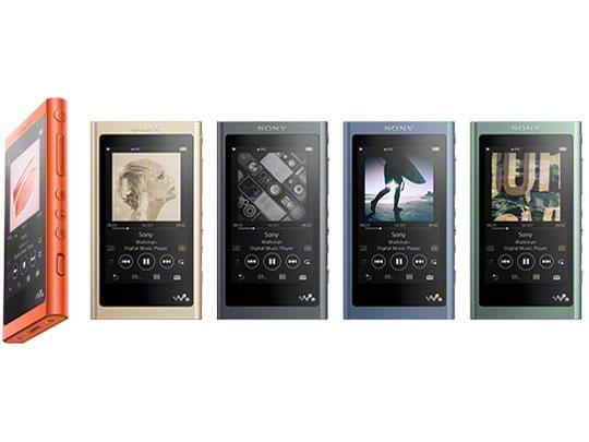 『カラーバリエーション』 NW-A55 (N) [16GB ペールゴールド] の製品画像