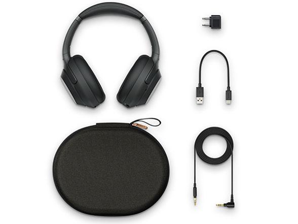 『セット内容』 WH-1000XM3 (B) [ブラック] の製品画像