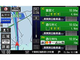 『ルート画面2』 ストラーダ CN-RE05WD の製品画像