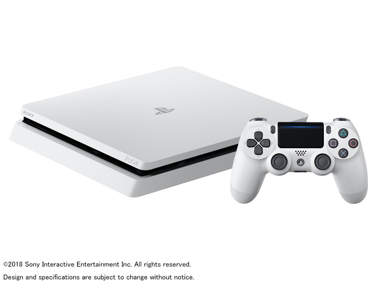 プレイステーション4 CUH-2200AB02 [500GB グレイシャー・ホワイト] の製品画像