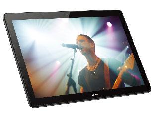 『本体 斜め』 MediaPad T5 LTEモデル AGS2-L09 SIMフリー の製品画像
