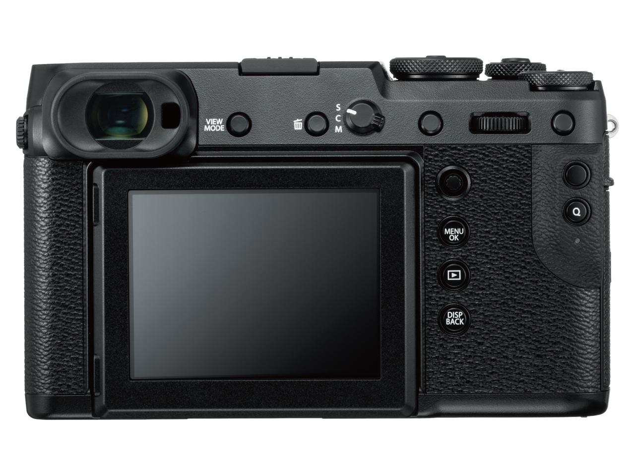 『本体 背面』 FUJIFILM GFX 50R ボディ の製品画像