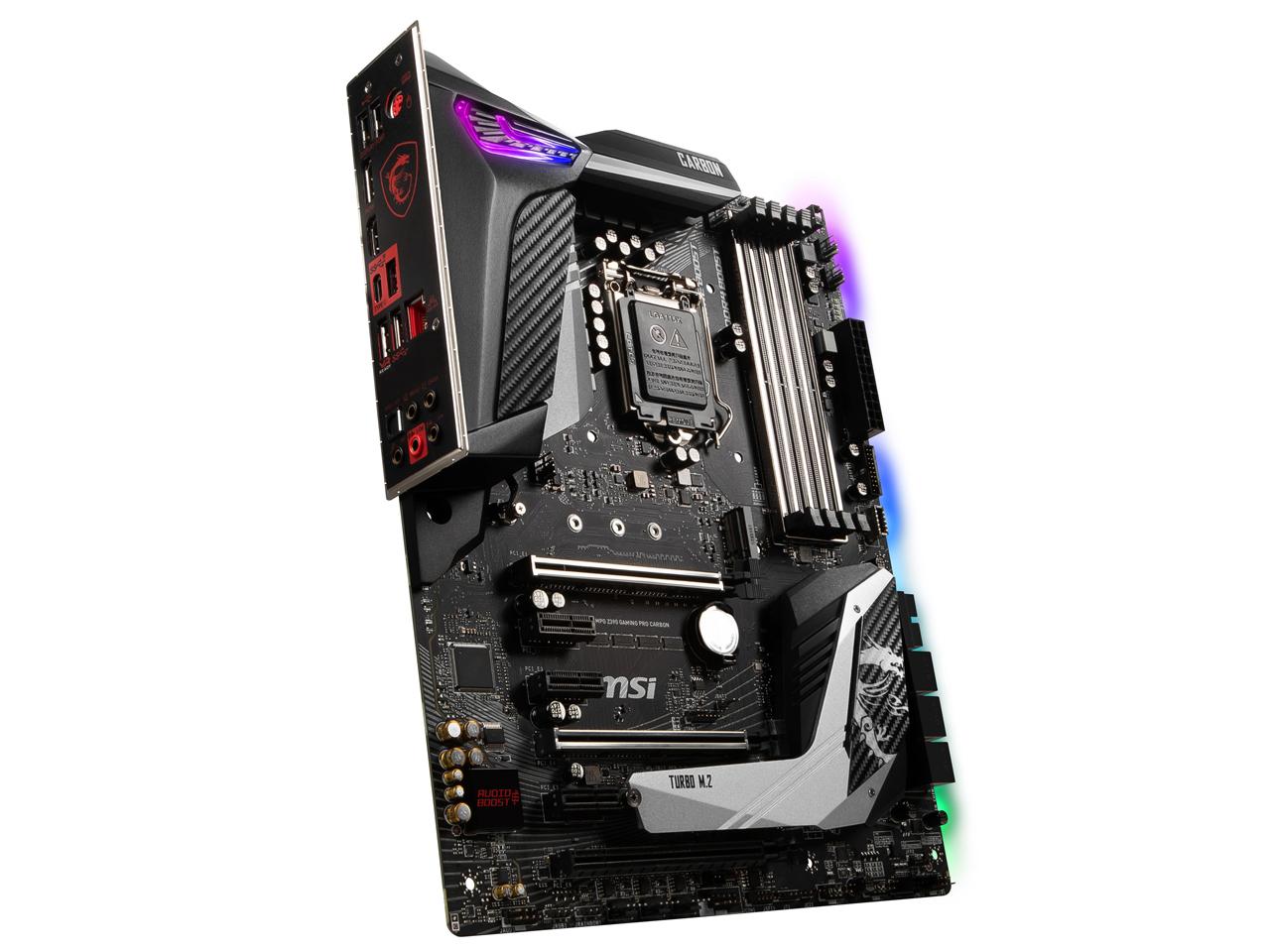『本体2』 MPG Z390 GAMING PRO CARBON の製品画像