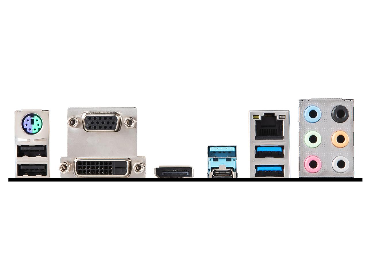 『本体 接続部分』 Z390-A PRO の製品画像
