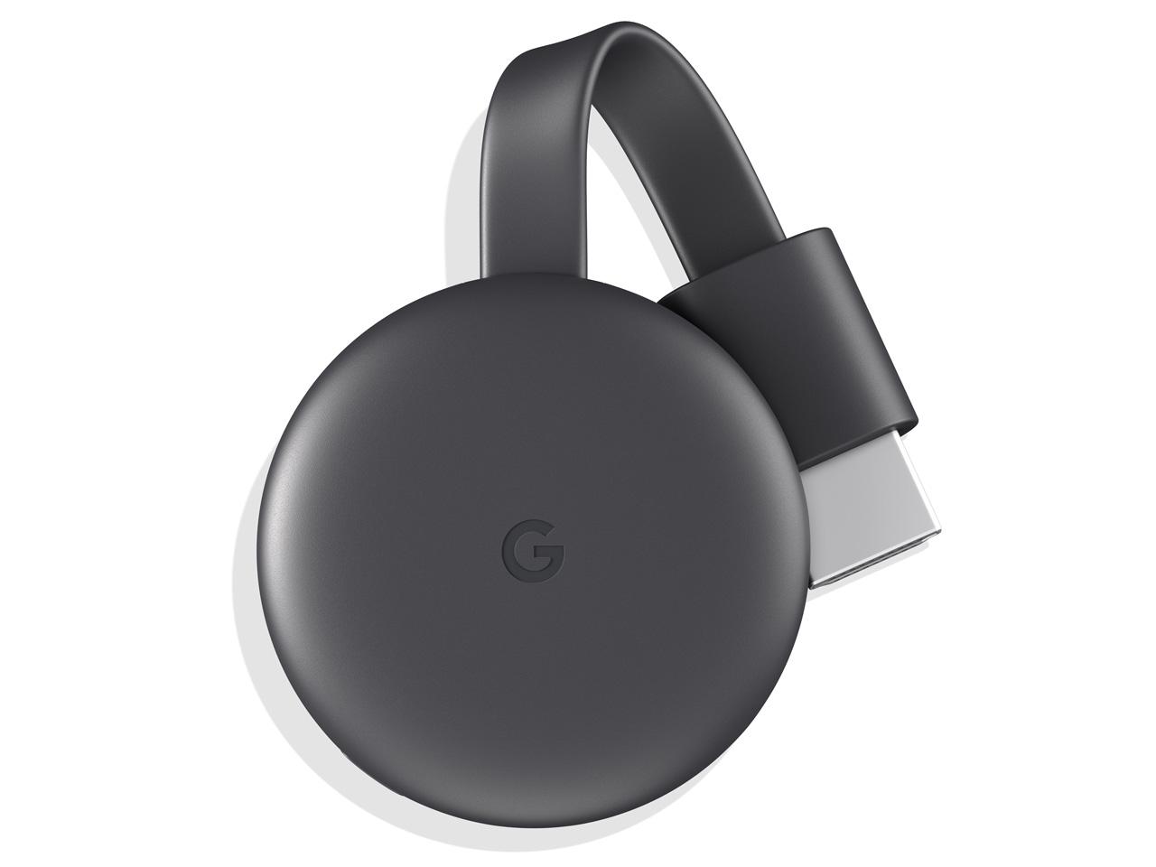 Chromecast GA00439-JP [チャコール] の製品画像