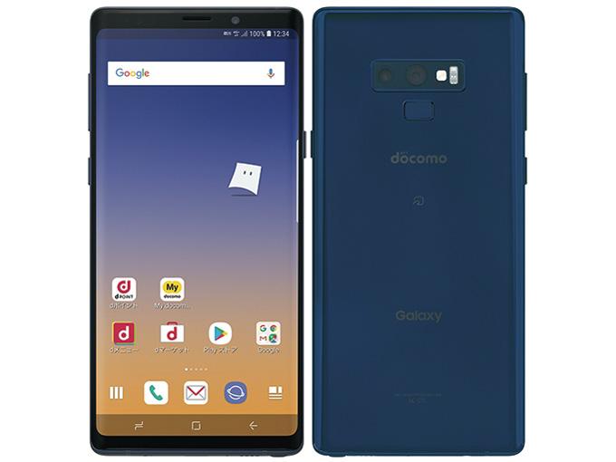Galaxy Note9 SC-01L docomo [オーシャン ブルー] の製品画像