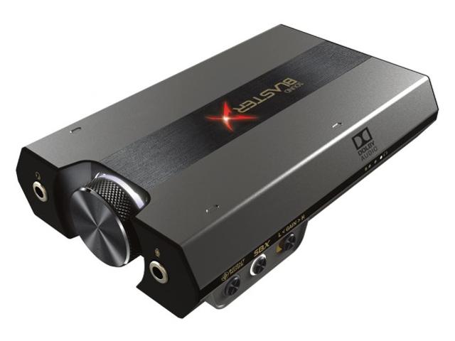 Sound BlasterX G6 SBX-G6 の製品画像