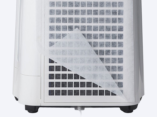 『本体 部分アップ』 KC-J50-W [ホワイト系] の製品画像