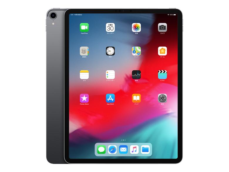 iPad Pro 12.9インチ Wi-Fi 64GB MTEL2J/A [スペースグレイ] の製品画像