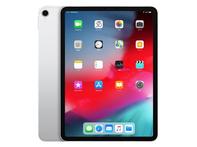 iPad Pro 11インチ Wi-Fi+Cellular 1TB MU222J/A SIMフリー [シルバー] の製品画像