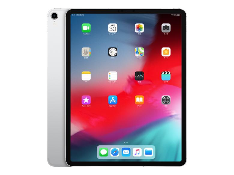 iPad Pro 12.9インチ Wi-Fi+Cellular 512GB MTJJ2J/A SIMフリー [シルバー] の製品画像