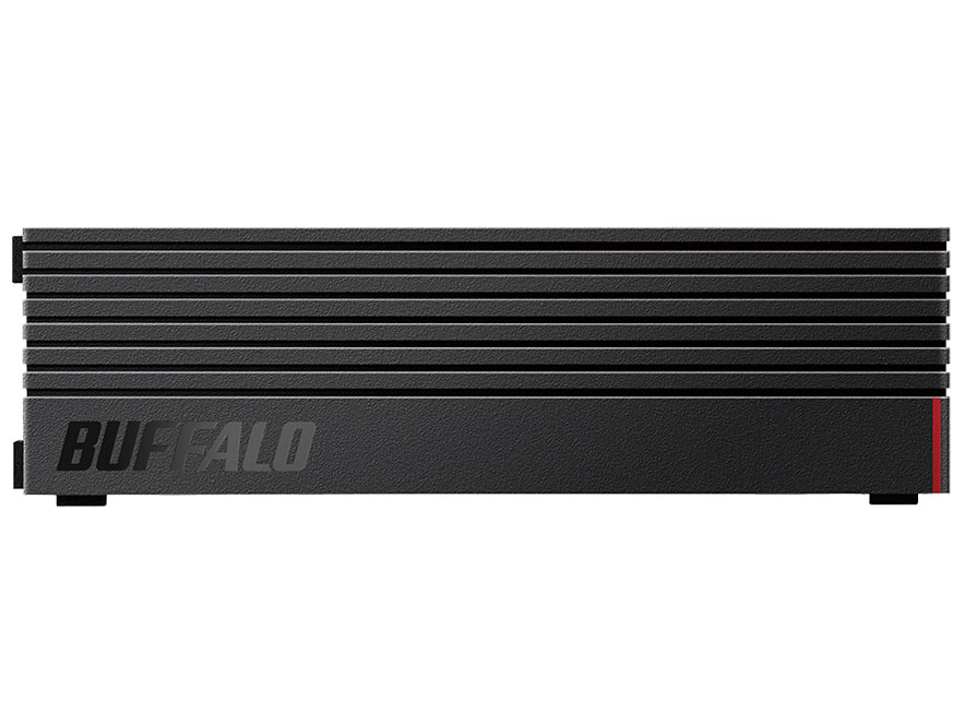 『本体 正面』 HD-LDS4.0U3-BA [ブラック] の製品画像