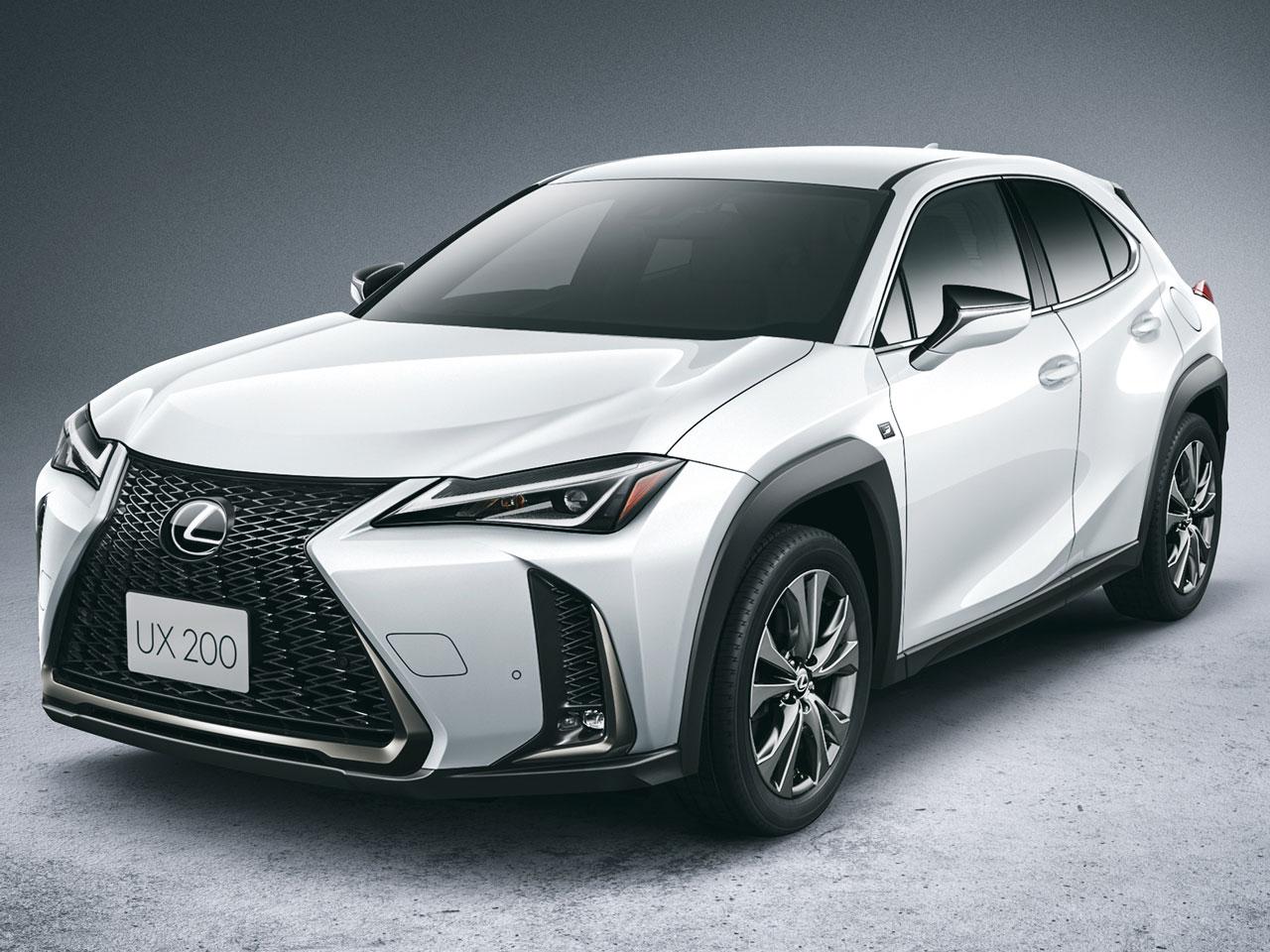 レクサス UX 2018年モデル 新車画像