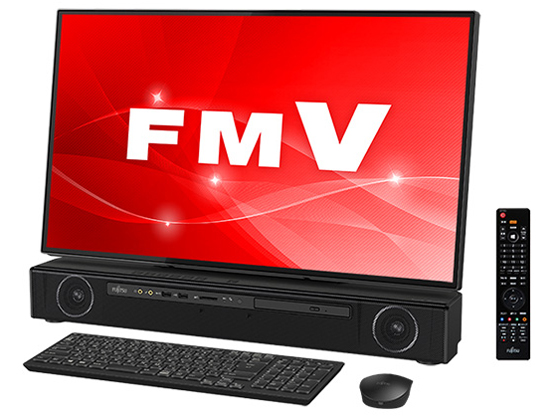 FMV ESPRIMO FHシリーズ WF2/C3 KC_WF2C3_A032 4K液晶・TV機能・メモリ16GB・SSD 256GB+HDD 1TB・Blu-ray搭載モデル の製品画像