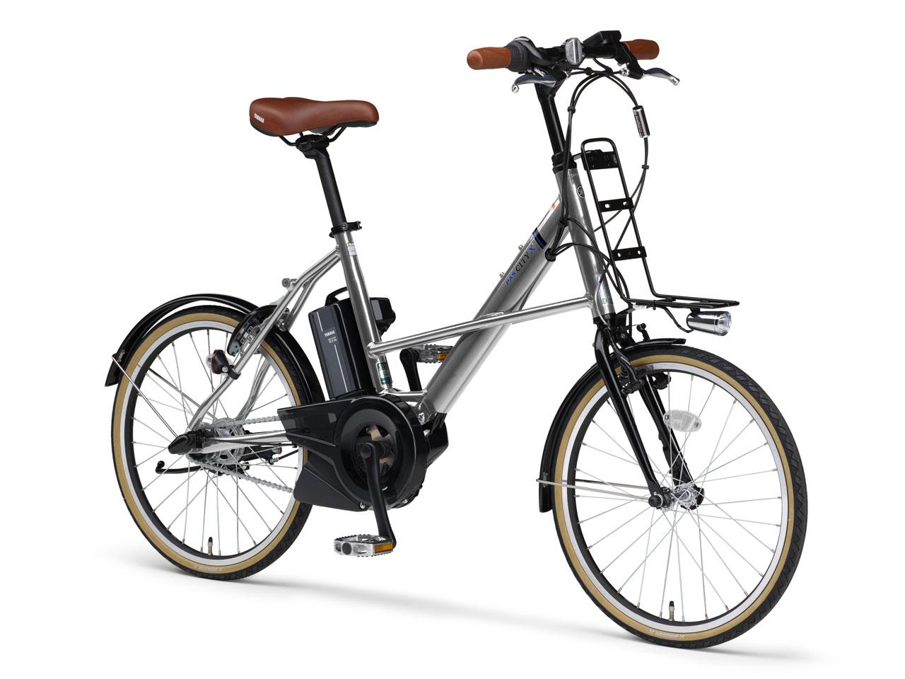 『本体 斜め』 PAS CITY-X PA20CX 2019年モデル [ミラーシルバー2] + 専用充電器 の製品画像