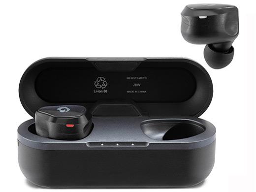 『本体 付属品 充電用ケース2』 GLIDiC Sound Air TW-7000 SB-WS72-MRTW/BK [アーバンブラック] の製品画像