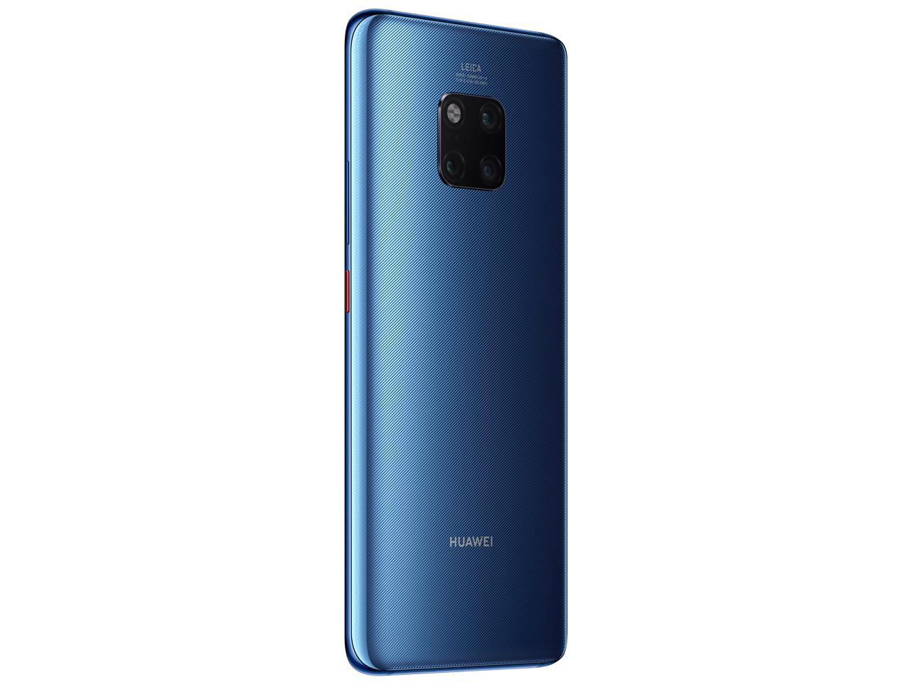 『本体 背面1』 HUAWEI Mate 20 Pro SIMフリー [Midnight Blue] の製品画像