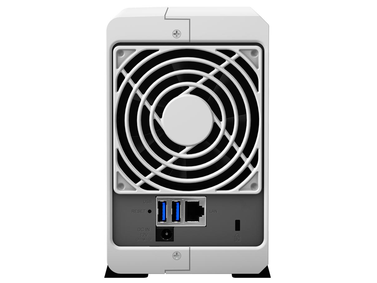 『本体 背面』 DiskStation DS218j/JP の製品画像