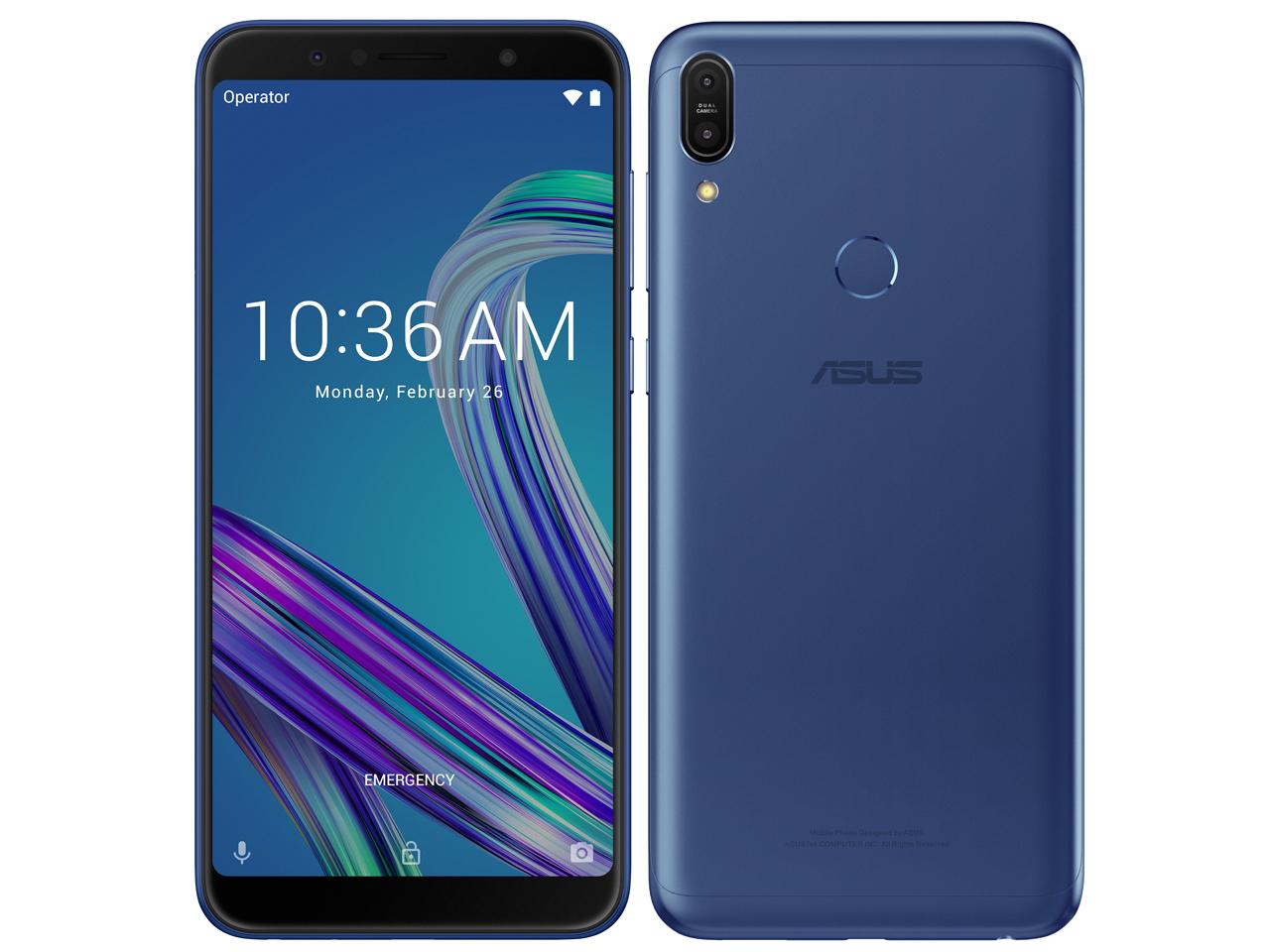 ZenFone Max Pro (M1) SIMフリー [スペースブルー] の製品画像