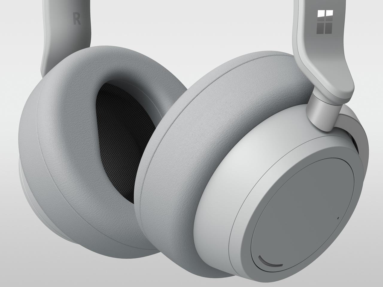 『本体 部分アップ1』 Surface Headphones GUW-00007 の製品画像