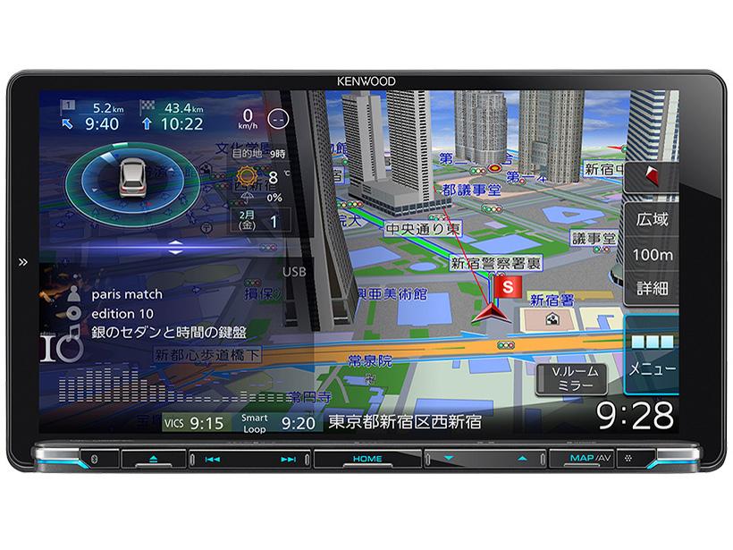 彩速ナビ MDV-M906HDL の製品画像