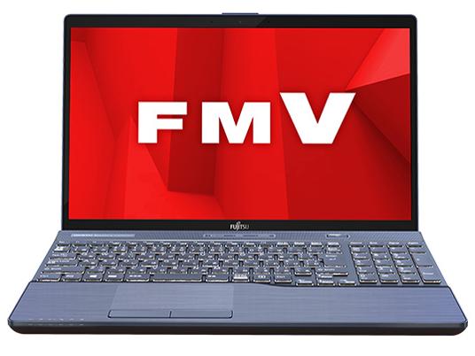 『本体 正面』 FMV LIFEBOOK AHシリーズ WA3/D1 KC_WA3D1_A060 Core i7・メモリ16GB・SSD 256GB+HDD 1TB・Office搭載モデル の製品画像