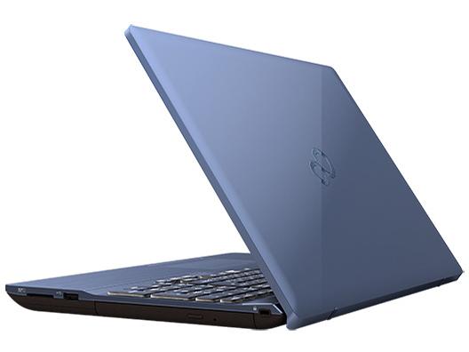 『本体 背面 斜め』 FMV LIFEBOOK AHシリーズ WA3/D1 KC_WA3D1_A060 Core i7・メモリ16GB・SSD 256GB+HDD 1TB・Office搭載モデル の製品画像