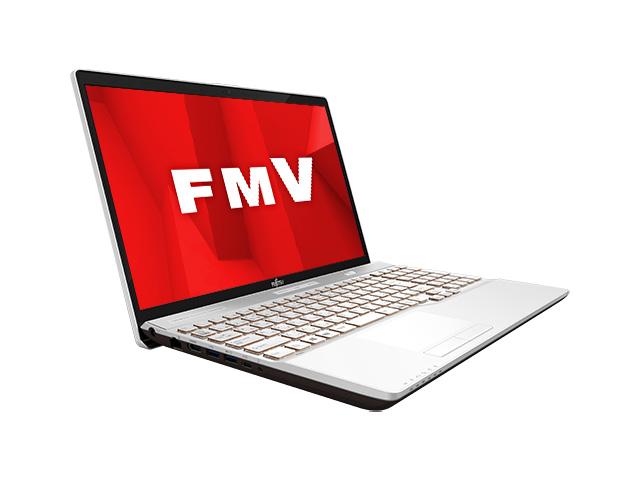 FMV LIFEBOOK AHシリーズ WA3/D1 KC_WA3D1_A049 Core i7・メモリ16GB・SSD 128GB+HDD 1TB・Office搭載モデル [プレミアムホワイト] の製品画像