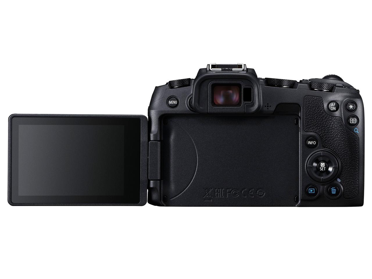 『本体 背面 バリアングル』 EOS RP RF35 MACRO IS STM マウントアダプターキット の製品画像