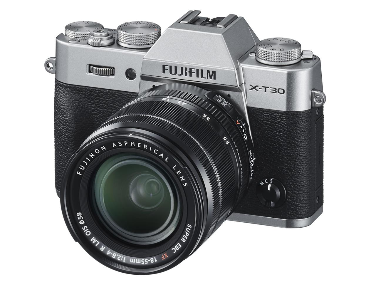 富士フィルム X-T30 XF18-55mmレンズキット ブラック [ミラーレス一眼カメラ(2610万画素)] デジタル一眼カメラ