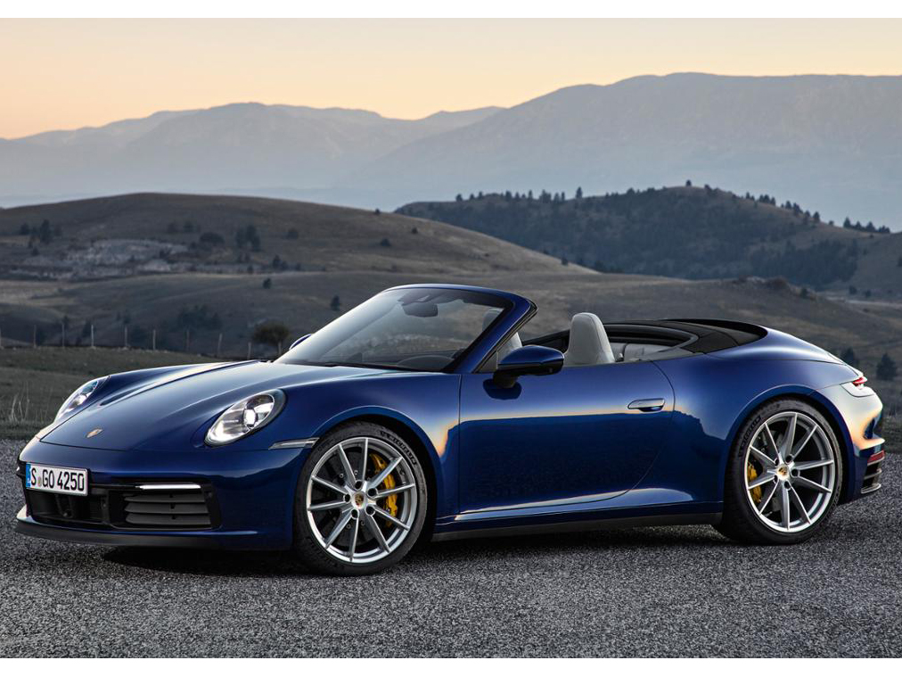 ポルシェ 911カレラ カブリオレ 2019年モデル 新車画像