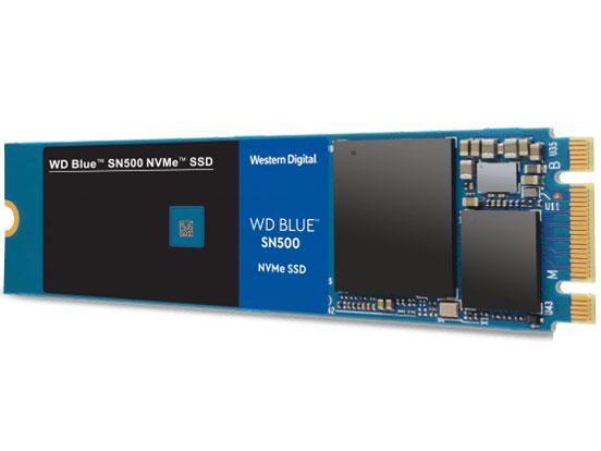 WD Blue SN500 NVMe WDS500G1B0C の製品画像