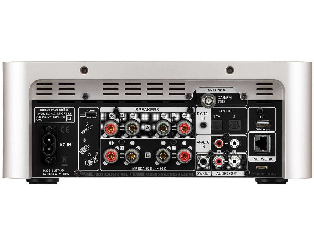 『本体 背面』 M-CR612 [シルバーゴールド] の製品画像