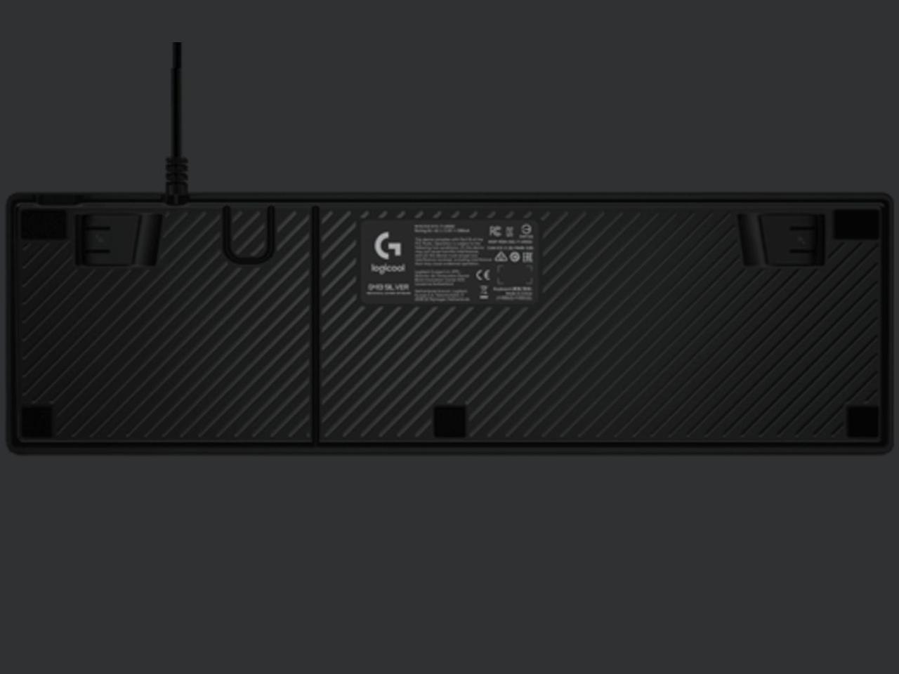 『本体 底面』 G413 Mechanical Gaming Keyboard G413rSV [シルバー] の製品画像