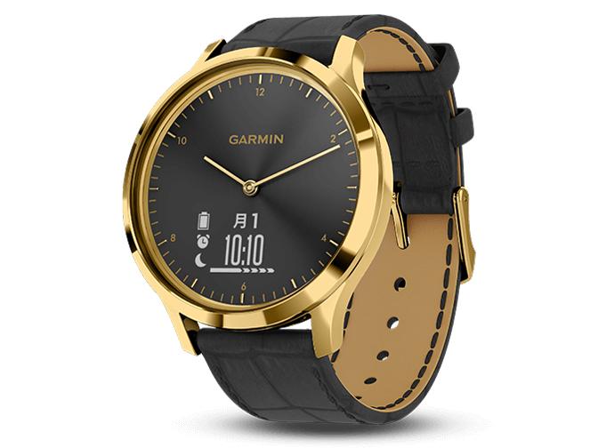 vivomove HR 010-01850-7C [Gold Black Leather] の製品画像