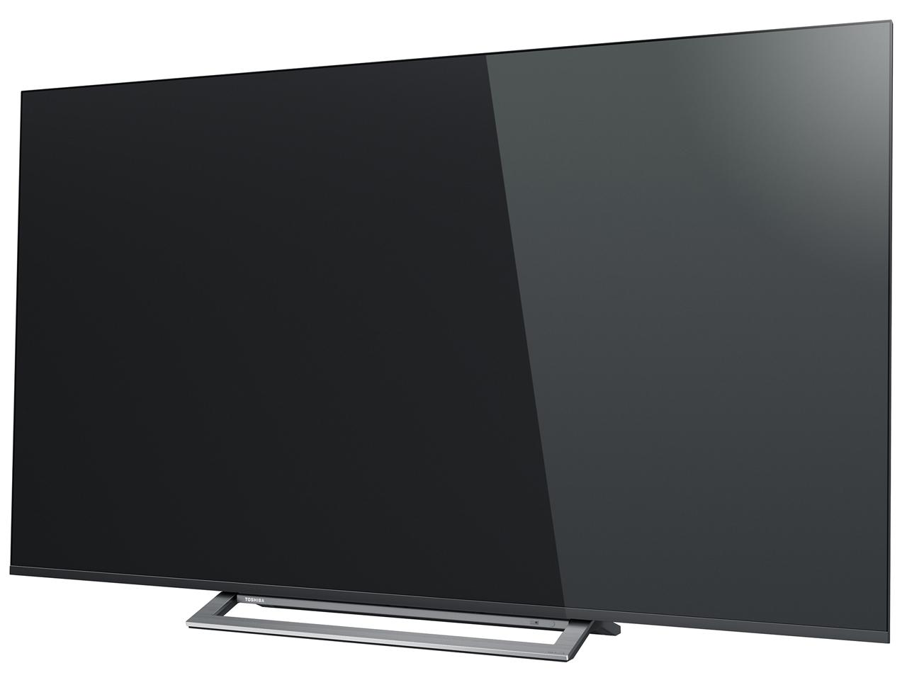 『本体 斜め』 REGZA 65M530X [65インチ] の製品画像