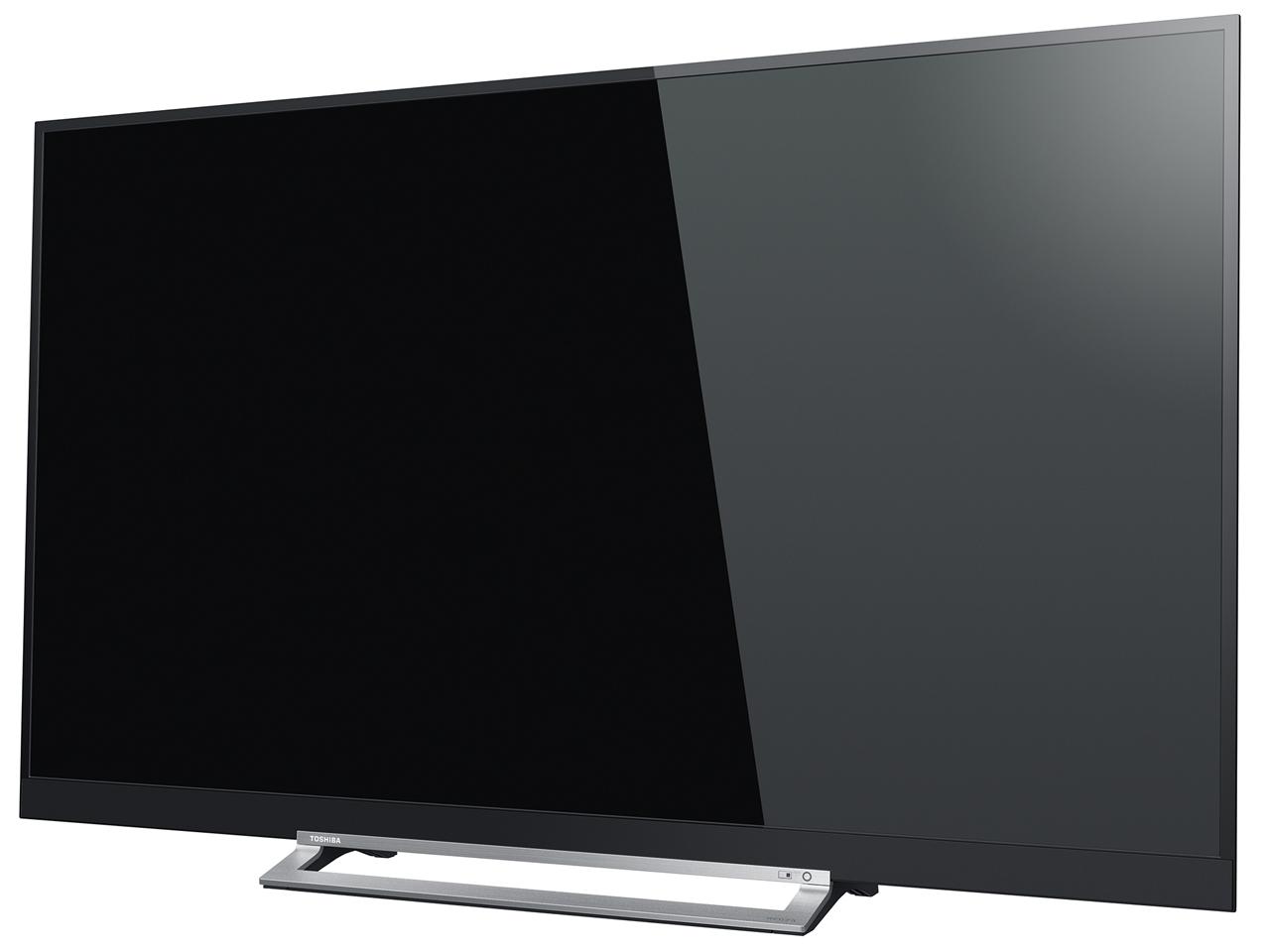 『本体 斜め』 REGZA 55Z730X [55インチ] の製品画像
