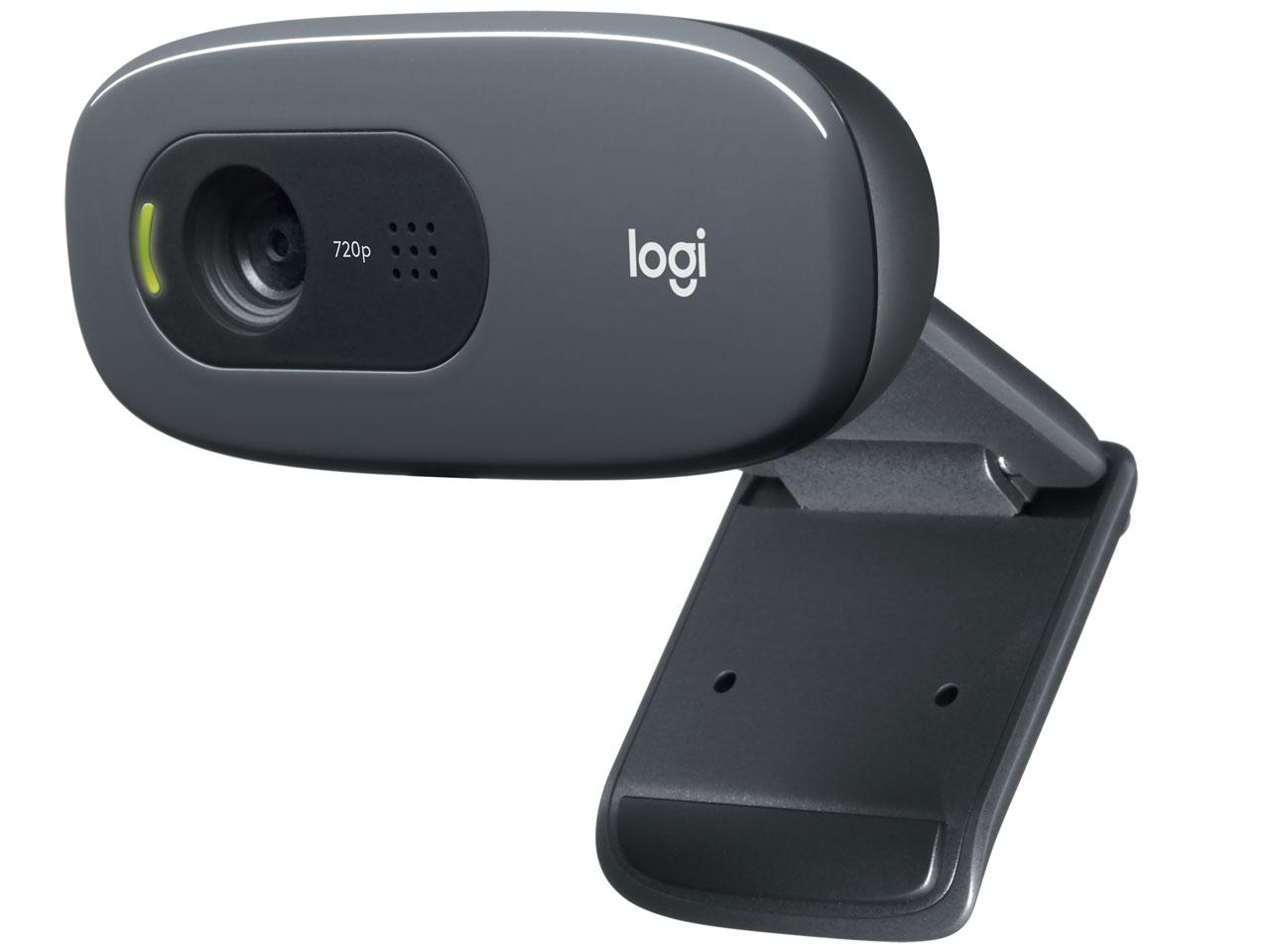 『本体 斜め』 HD Webcam C270n [ダークグレー] の製品画像
