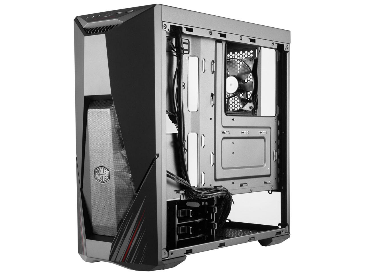 『本体 内部』 MasterBox K500 Phantom Gaming Edition MCB-K500D-KGNN-ASR の製品画像