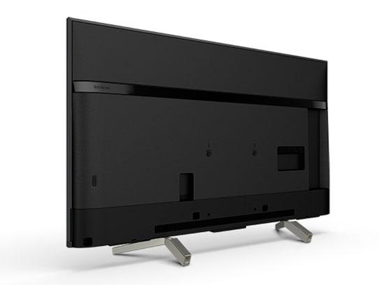 『本体 背面 斜め』 BRAVIA KJ-49X8500G [49インチ] の製品画像