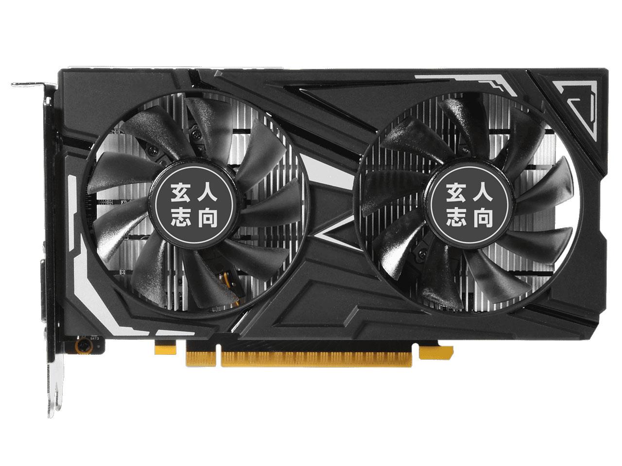 『本体1』 GF-GTX1650-E4GB/OC/DF [PCIExp 4GB] の製品画像