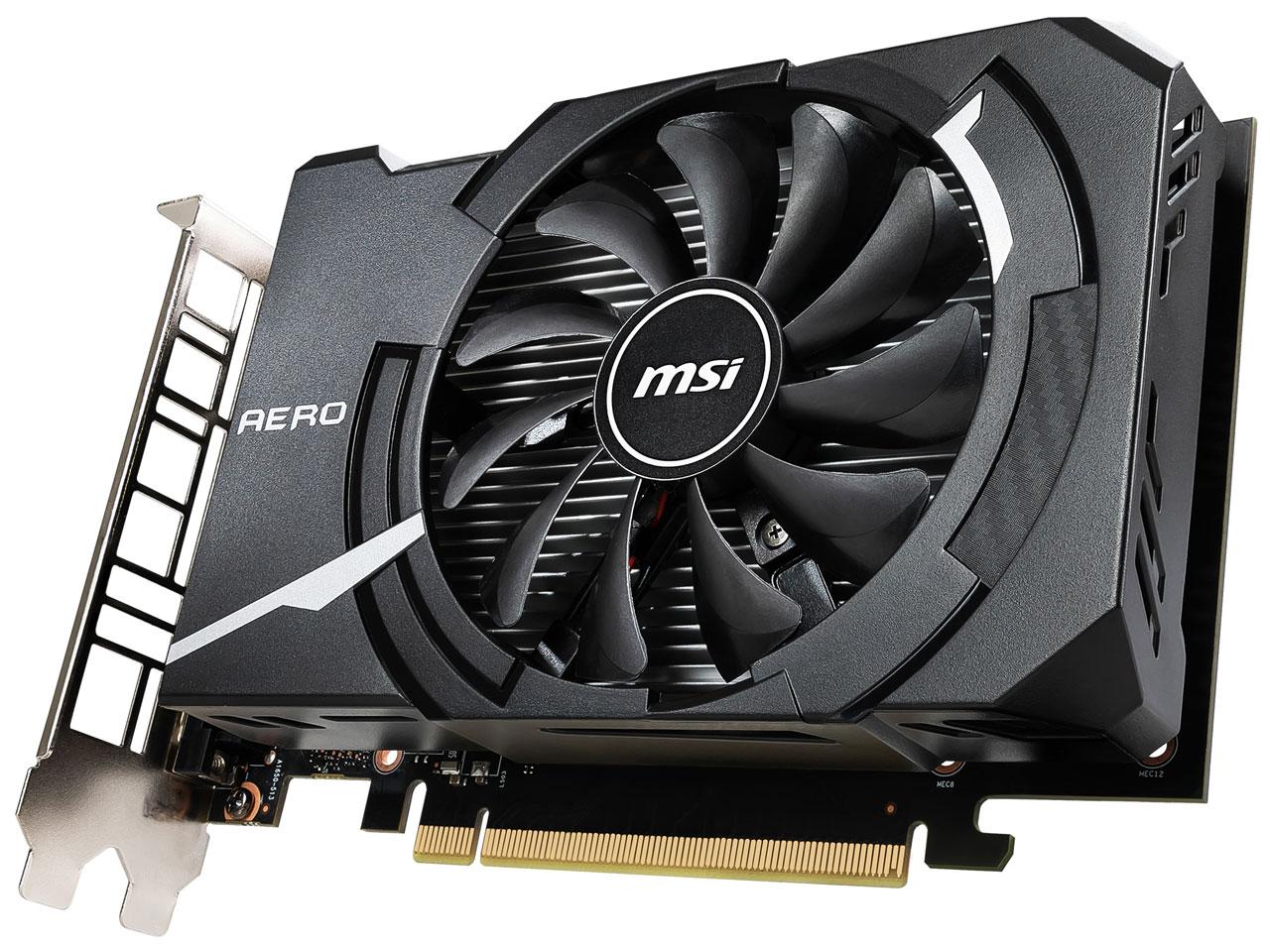 『本体2』 GeForce GTX 1650 AERO ITX 4G OC [PCIExp 4GB] の製品画像
