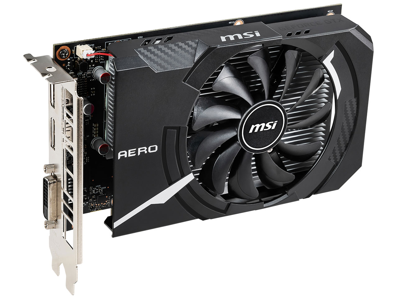 『本体4』 GeForce GTX 1650 AERO ITX 4G OC [PCIExp 4GB] の製品画像