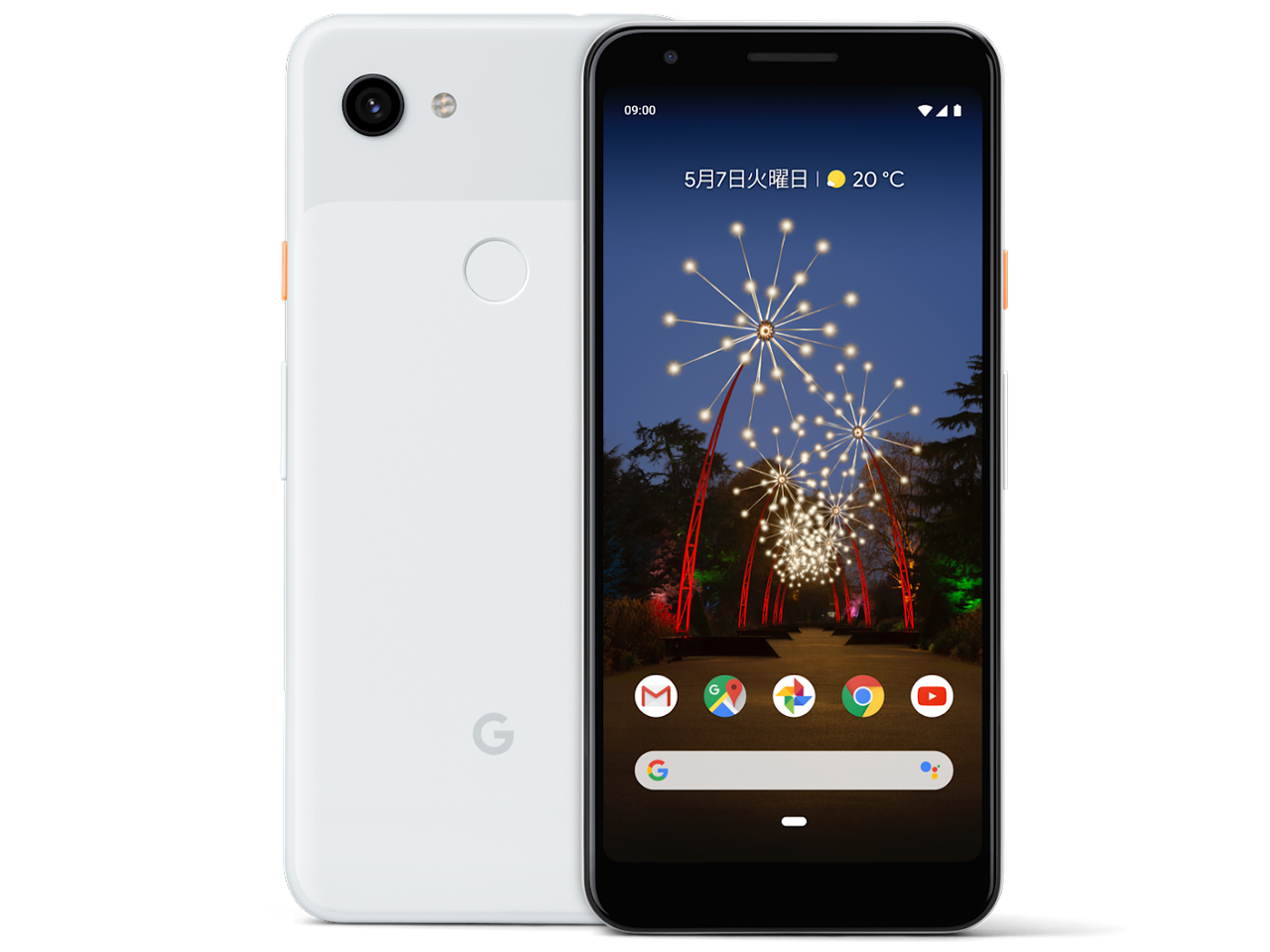 Google Pixel 3a SIMフリー [Clearly White] の製品画像
