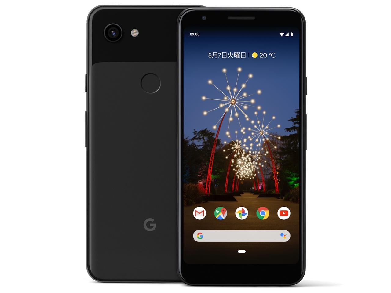 Google Pixel 3a SIMフリー [Just Black] の製品画像