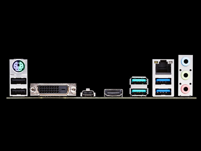 『本体 接続部分』 TUF B450-PRO GAMING の製品画像