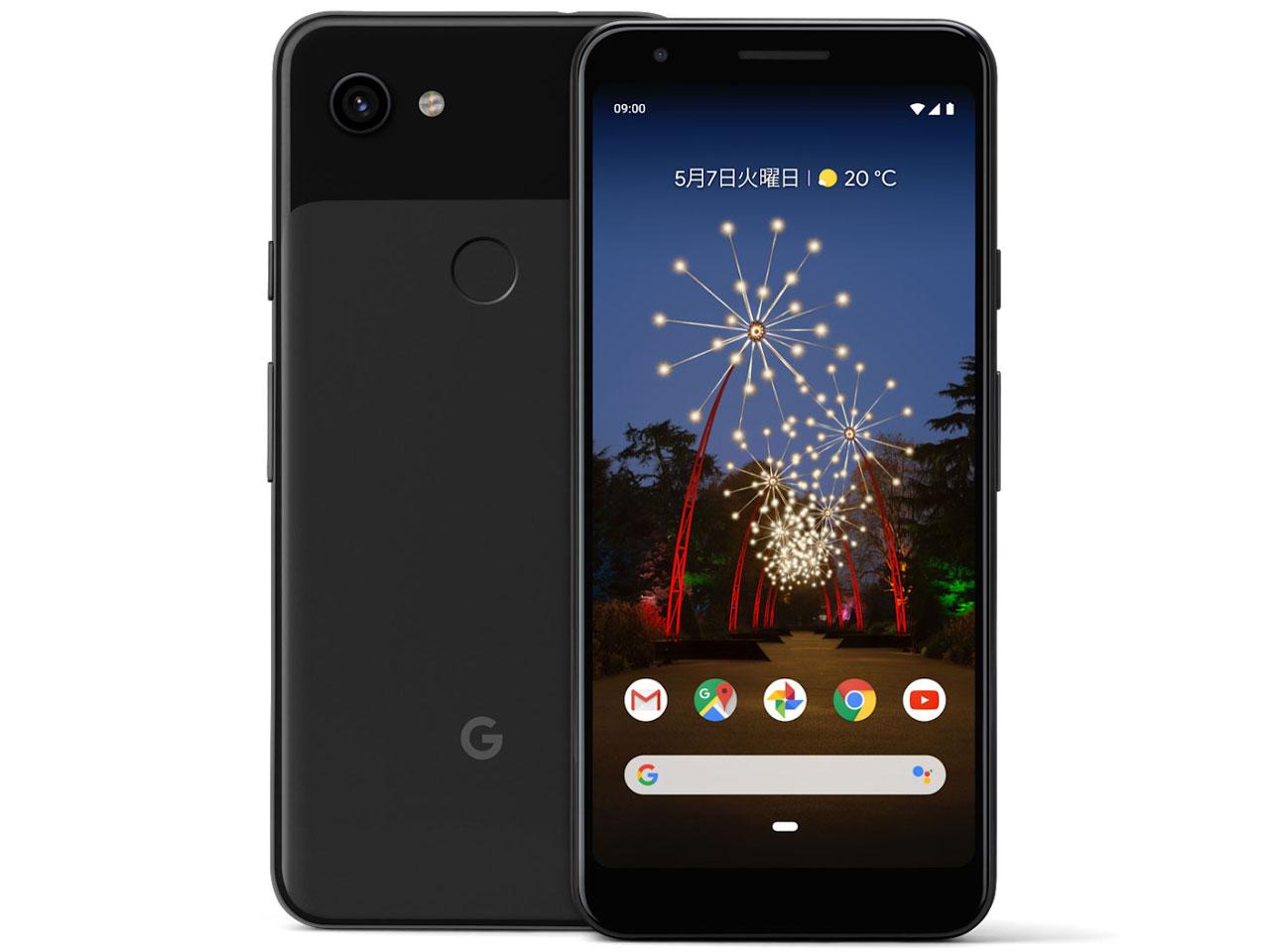 Google Pixel 3a docomo [Just Black] の製品画像